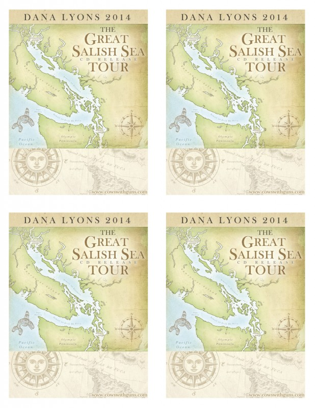 Dana Lyons Great Salish Sea Handbills