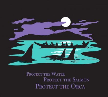 Dana Salish Sea T-shirt without white border