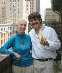 Dana Lyons & Jane Goodall