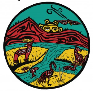 Stillaguamish Festival of the River logo
