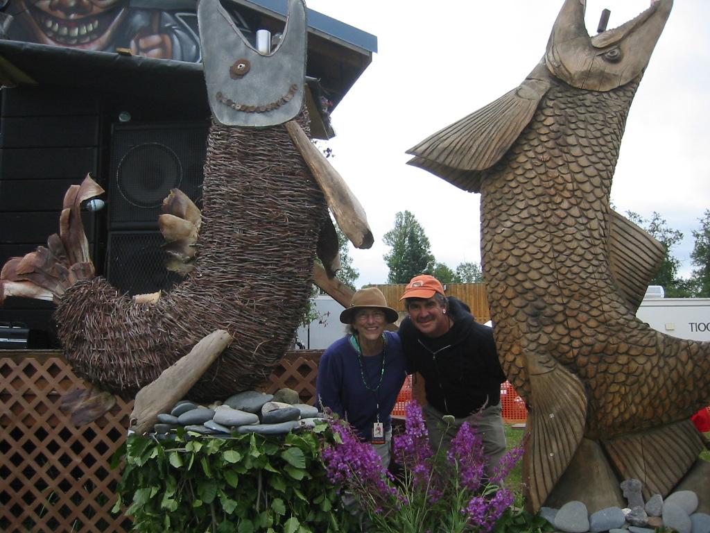 AK Susan Grace & Dana Salmonstock