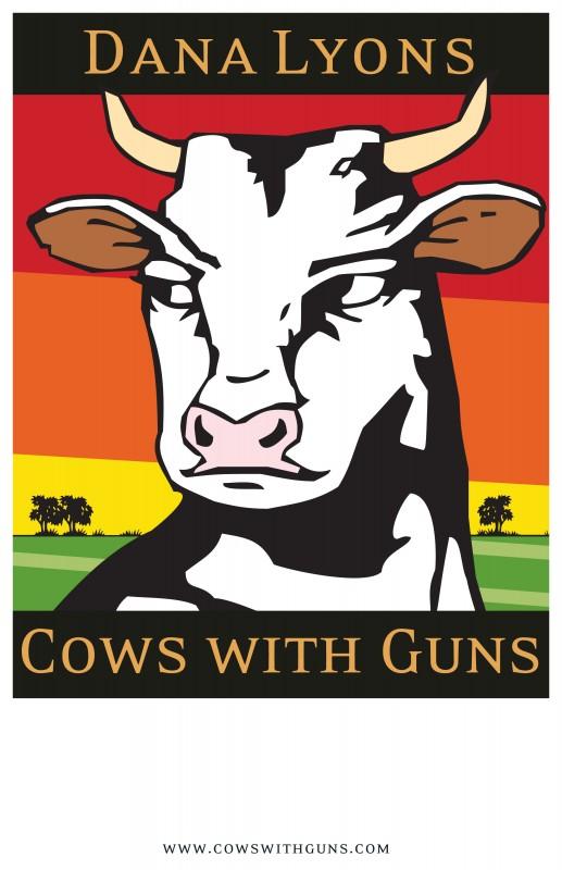 DanaLyons-CowsGuns-poster-11x17