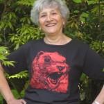 Women's Scoop Neck Squirrel t-shirt