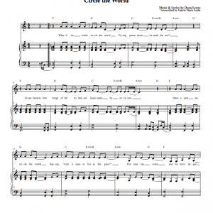 Sheet Music - Circle The World by Dana Lyons